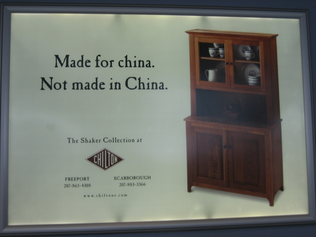 Not Made in China Ad