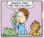 Ellen says hey